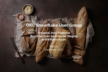 2019-09-13 Snowflake OKC User Group - Ar