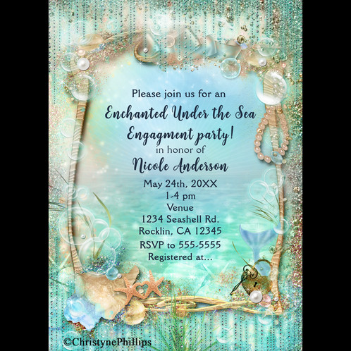 This Digital Invitation Can Be Customized For Any Event It Done In 4x6 Or 5x7 Size Custom Sizes Smaller Than May Also