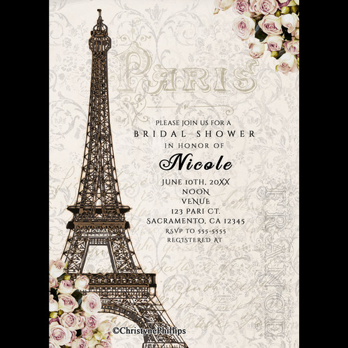 This Invitation Can Be Customized For Any Event It Done In 4x6 Or 5x7 Size Custom Sizes Smaller Than May Also