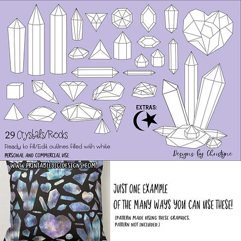 digital crystals