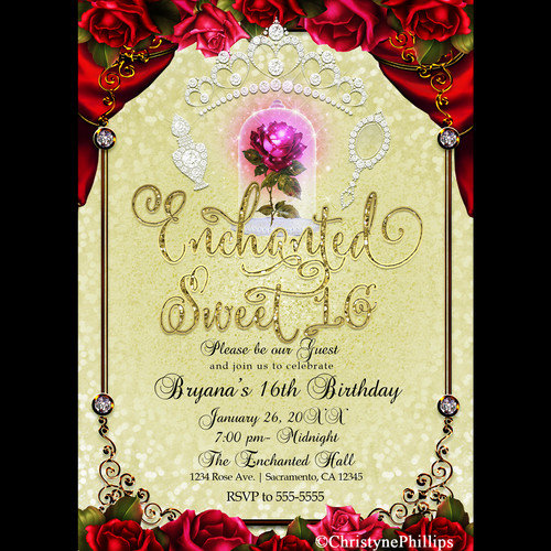 prince and princess party invitations Intoanysearchco
