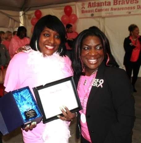 Diamond of Hope Award, with State Senator
