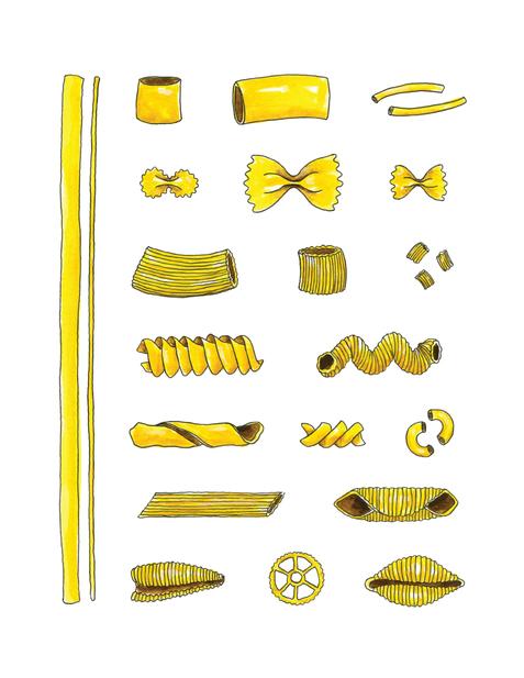 Les pâtes