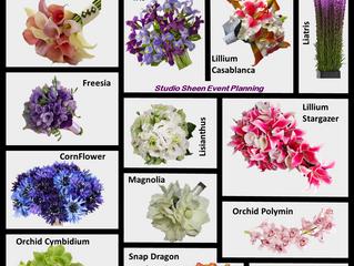 Wedding Flowers - March
