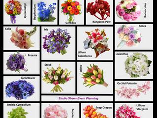 Wedding Flowers - April