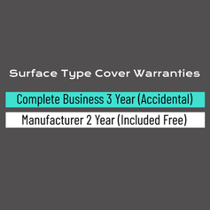 Surface Type Cover Warranty Options