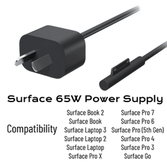 Surface 65W Power Supply