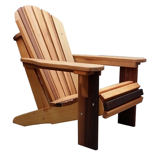 Premium Cedar Wood Adirondack Chair