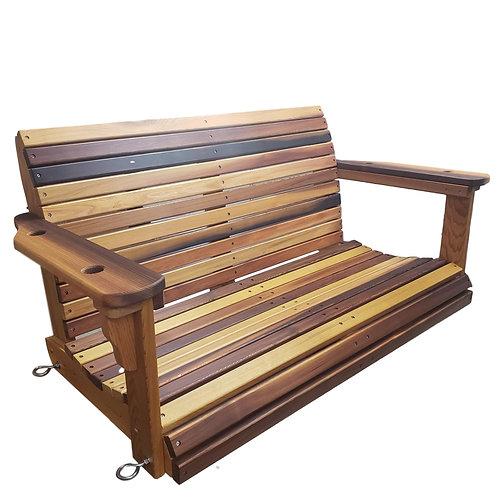 Cedar Wood Porch Swing