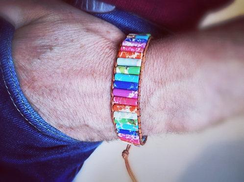 Bracelet 7 chakras Bohème