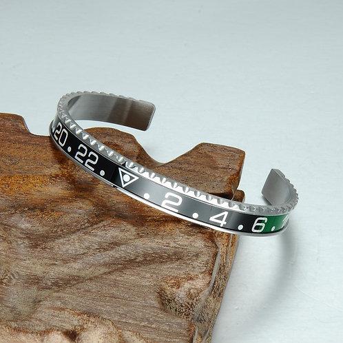 Bracelet VERT/NOIR