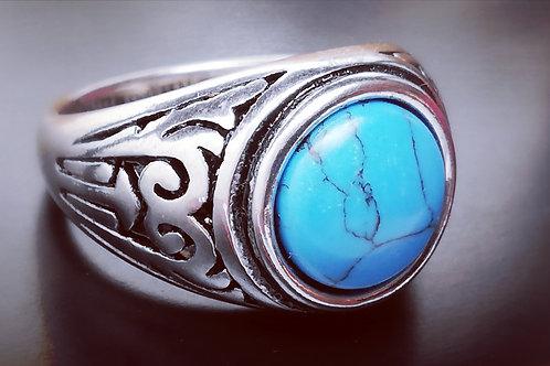 Bague Indiana blue