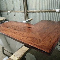 Red gum counter top by Go Natural Timbers