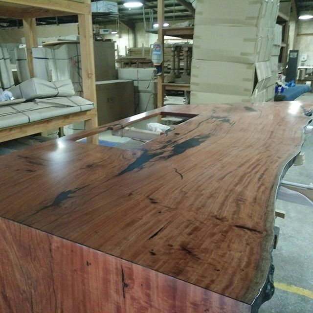 Redgum table with waterfall edge.jpg.jpg