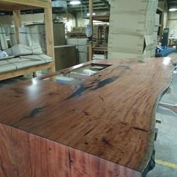 Redgum table with waterfall edge.jpg.jpg