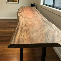 African Mahogany slab made by Go Natural Timbers