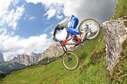Down Hill in Val di Fassa (R.Brunel)
