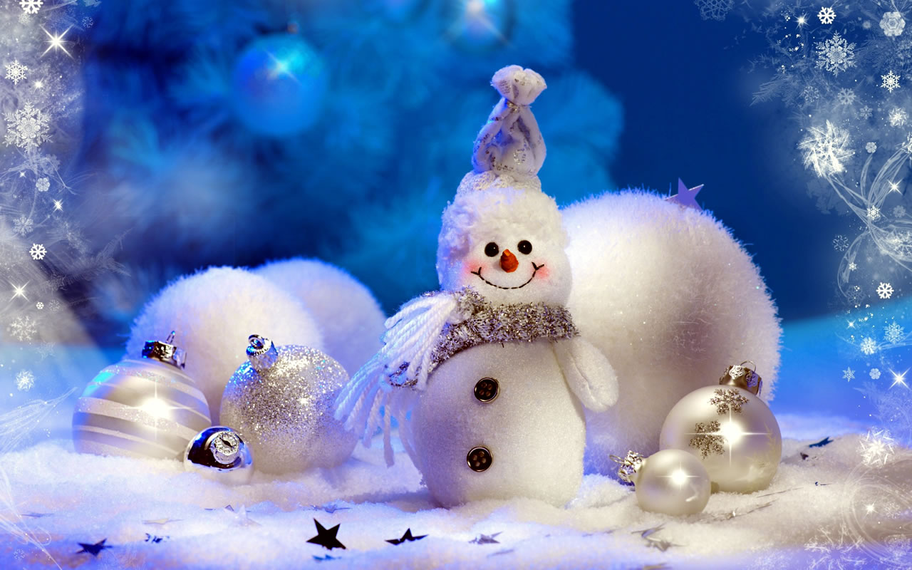 Pupazzi Neve natalizi