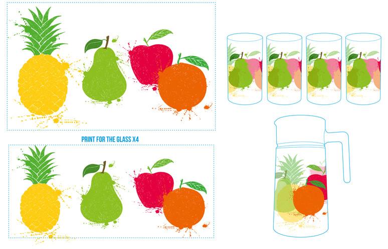 service à limonade