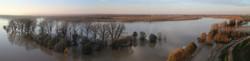 Isola dei Conigli vista dal Drone