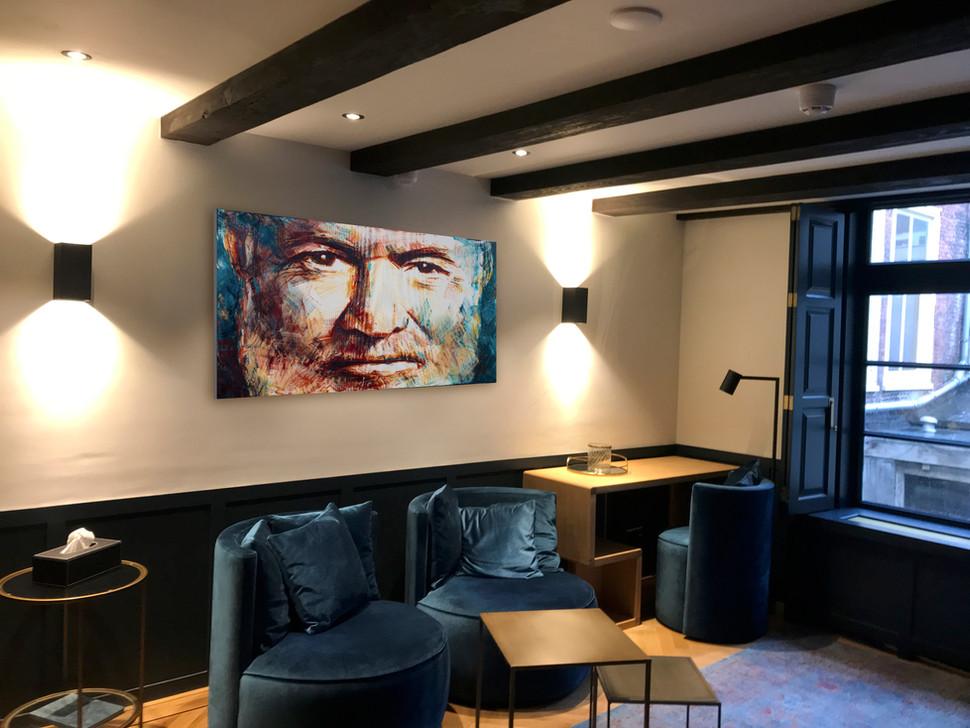 Room 2 . Ernest Hemingway Living art.JPG