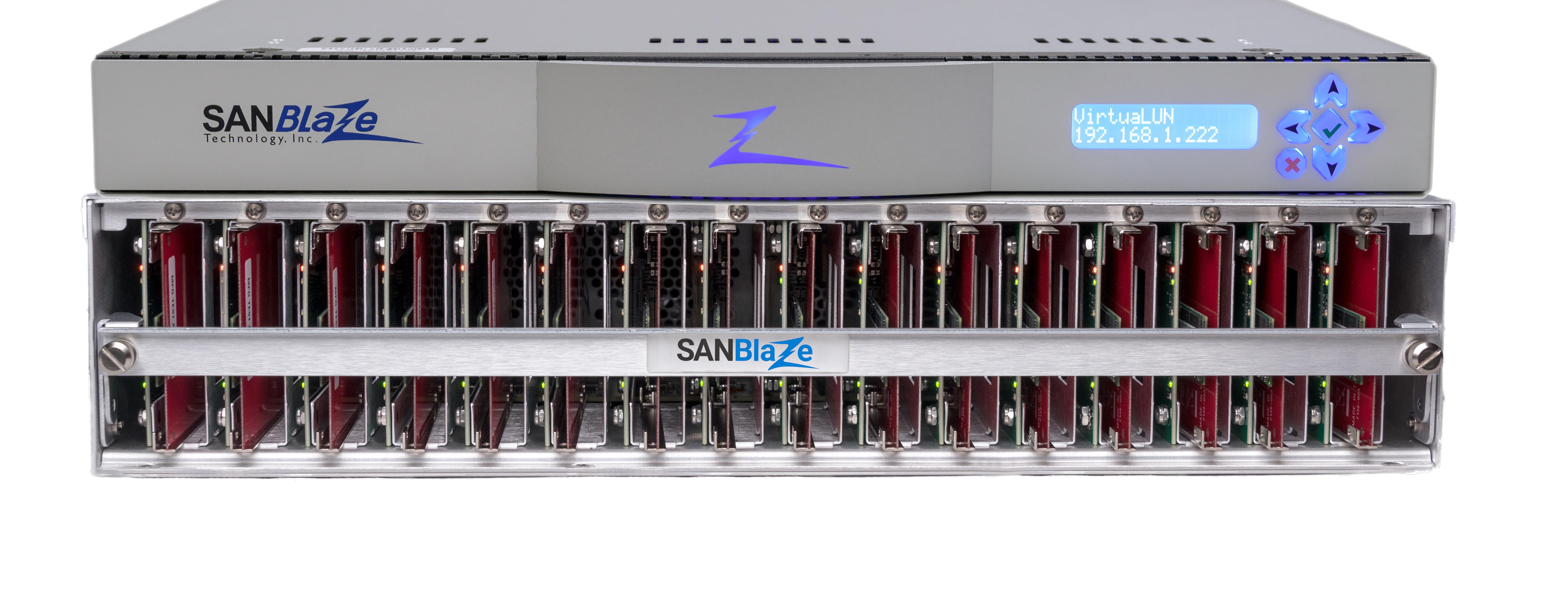 SANBlaze Technology, Inc  Official Site