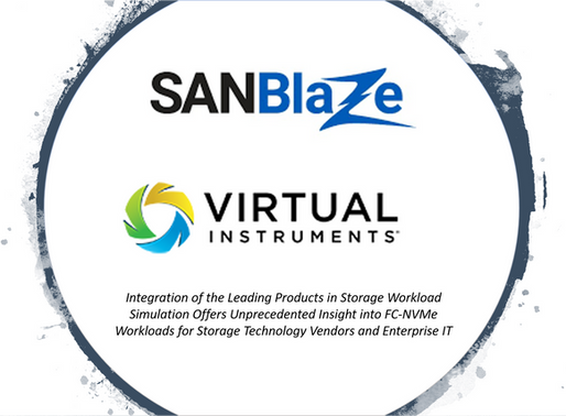 Virtual Instruments and SANBlaze Partner to Help Storage Professionals