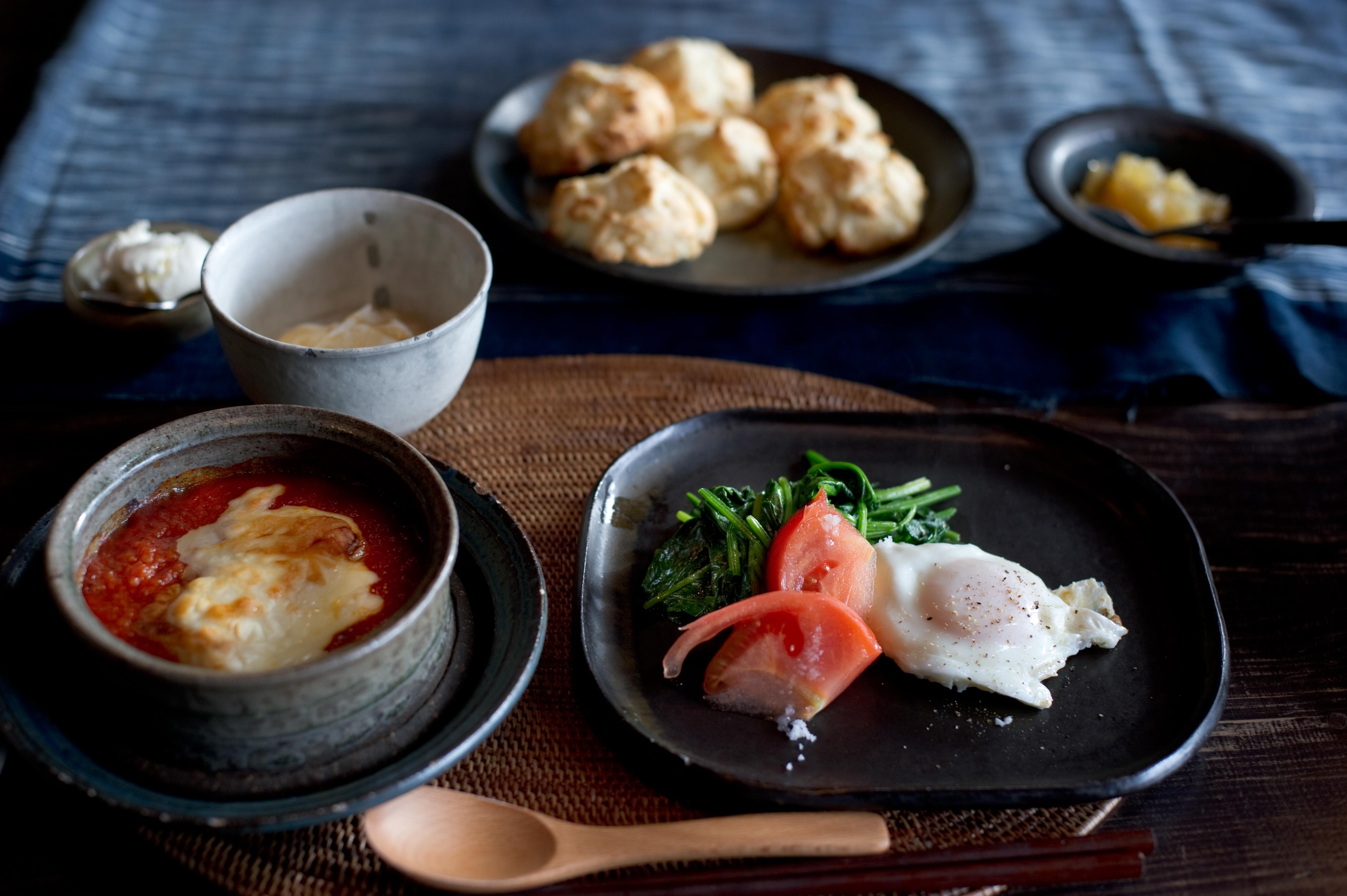 日本の朝食