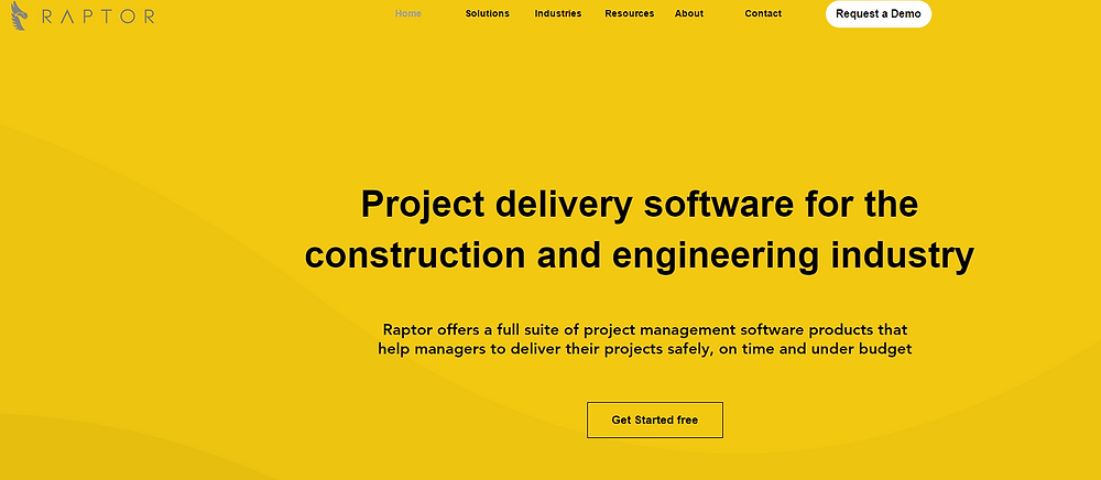 RaptorPM project management software