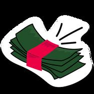 Sticker Samba Cash
