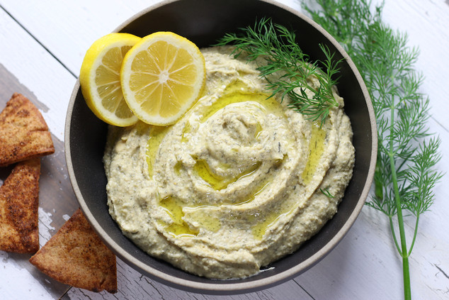 Lemon-Garlic-Hummus