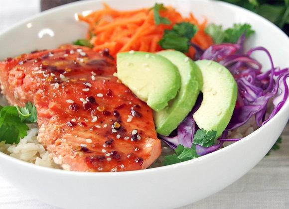 Spicy Salmon Protein Bowl