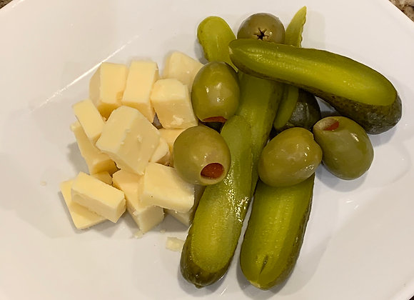 Artisan Cheeses & Pickles