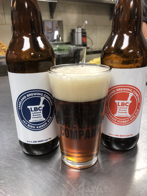 Proud to support Lakeland Brewery