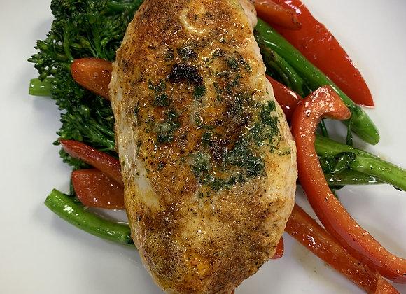 Cajun Chicken with Vegetables