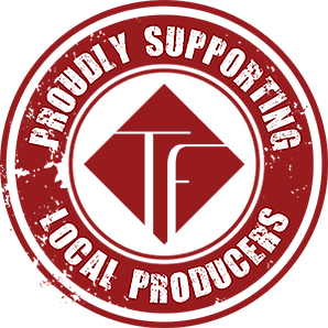 We are proud to support loccal farmers, producers and businesses