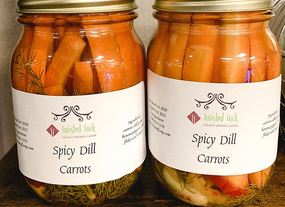 Spicy Dill Carrots
