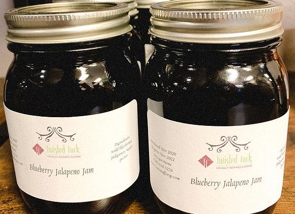 Blueberry Jalapeno Jam