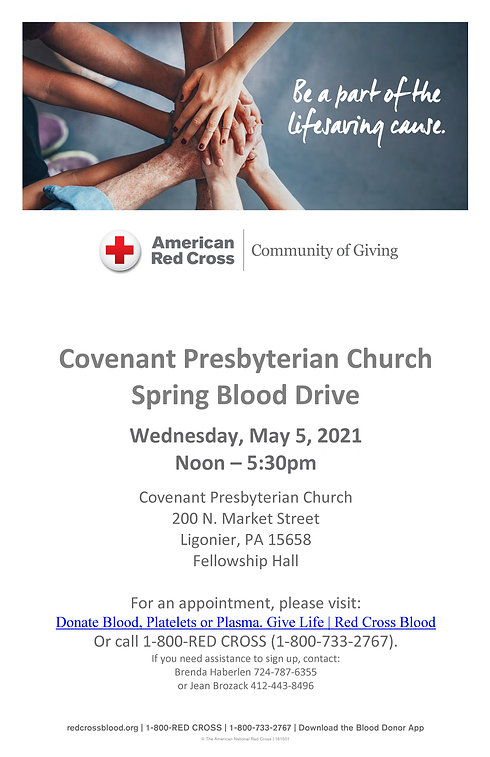 May 5 Blood Drive Poster.jpf