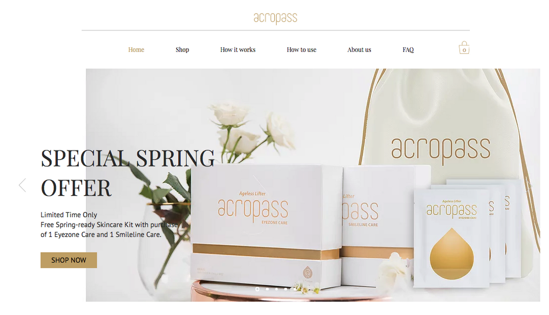 Acropass Website