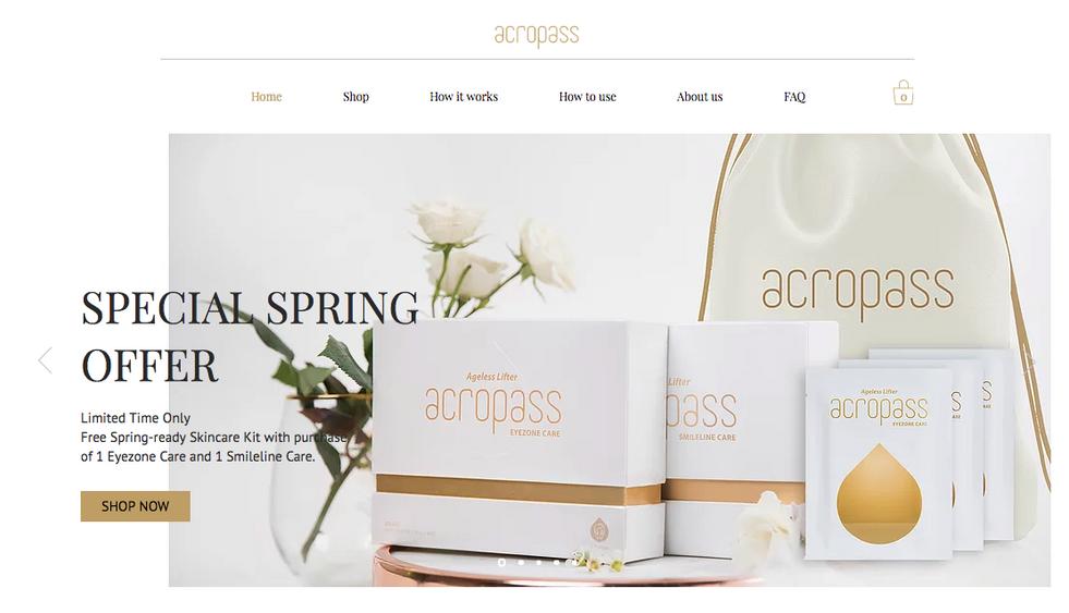 Acropass Website