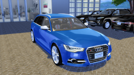 Audi S6 Avant 2012