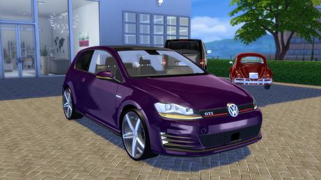 VW Golf 7 GTI 2013