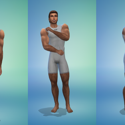 OceanRAZR Male Wetsuit (Short)