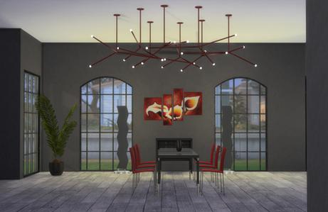 """OceanRAZR Design Ceiling Lamp """"Constellation"""""""