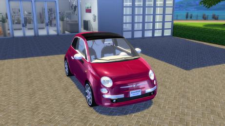 Fiat 500 Lounge 2008