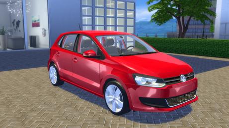 VW Polo Highline TSI 2010 (6R)