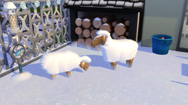 OceanRAZR Decoration Sheeps
