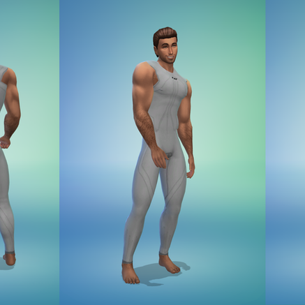 OceanRAZR Male Wetsuit (without Arm Covers)