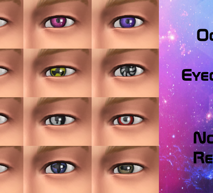 Crazy Eyecolors-Pack